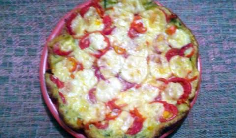 Фото: Кабачковая пицца готова!
