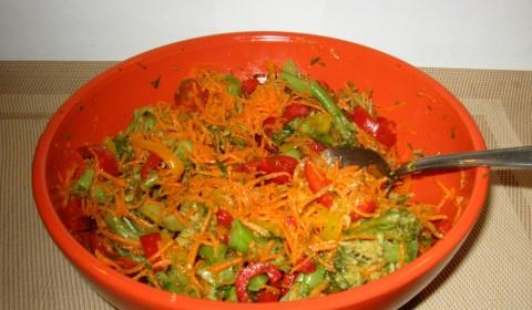 Салаты из брокколи по-корейски рецепты
