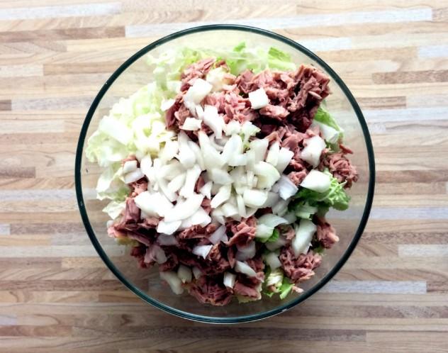 Салат из пекинской капусты рецепт