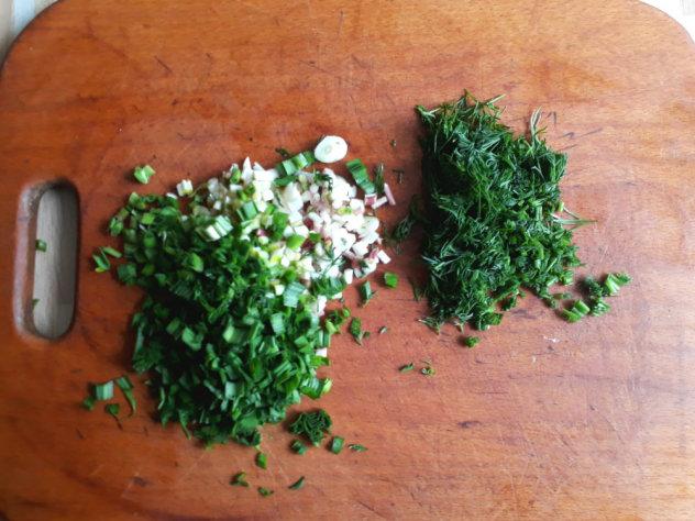 лаваш с зеленью рецепт