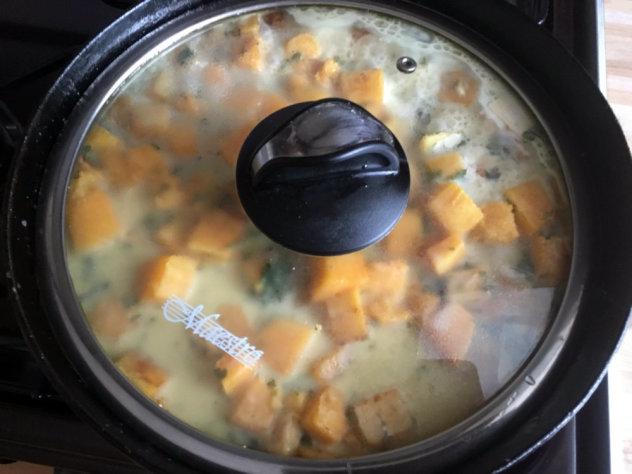 тыква в сметанном соусе