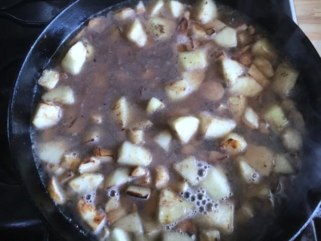 Крем-суп из корня петрушки и груши