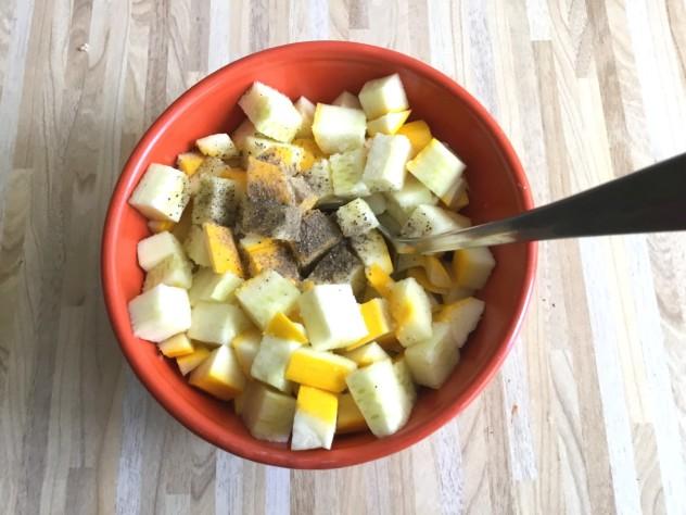 Салат из цукини рецепт