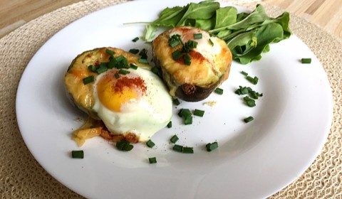 авокадо с яйцом рецепт